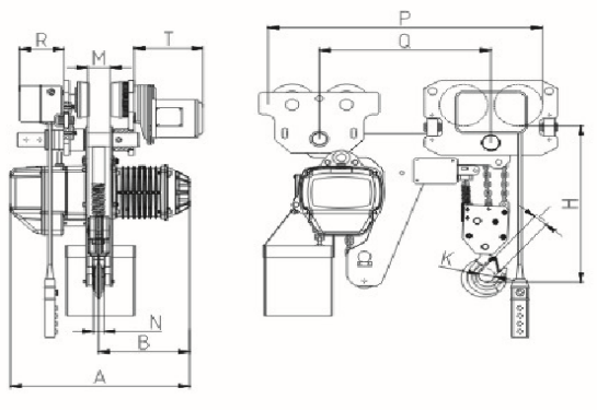 Low Head-Room Electric Chain Hoist drawing.png